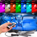 4 X 9led Para Coche Carga Interior Rgb Luz Accesorios Pie Co