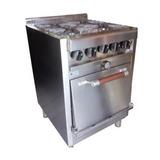 Cocina 58 Centímetros Acero Industrial Mga Fábrica
