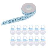 12x Azul Llenando Chupón Caja De Caramelo Botella 10 Patio