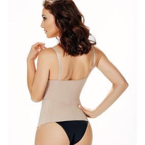 Blusa Modeladora Com Bojo, Ziper E Barbatanas Mondress