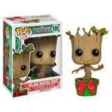 Funko Pop Marvel Gotg Holiday Dancing Groot
