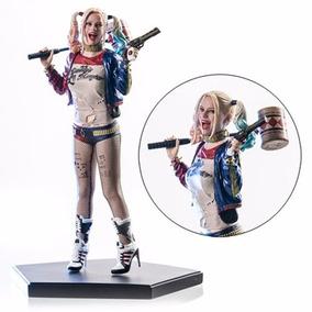 Estátua Harley Quinn Suicide Squad 1/10 - Iron Studios
