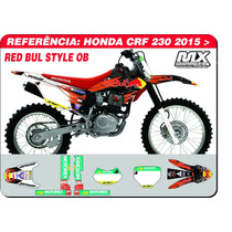 Adesivos-crf 230 2015 -red Bull Style Ob - Qualidade 3m