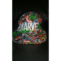 Gorra Marvel Cómic Oportunidad!