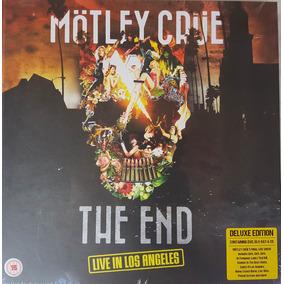 Motley Crue - The End Los Angeles Earbook [cd+dvd+blu-ray]