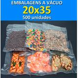 Embalagens A Vácuo 20x35 - 500 Unidades