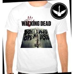 Camiseta The Walking Dead Porta Baby Look Série Zumbis