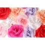 Flores Artificiales Rosas X 6