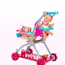 Little Mommy Carrito De Compras Muñeca Supermercado Oferta