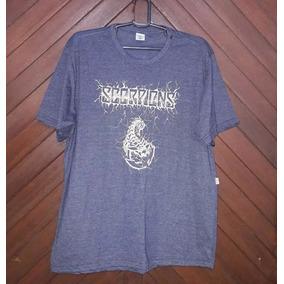 Camiseta Blusa Camisa Masculina Scorpions G Galeria Do Rock