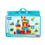 Mega Blocks Bloks Bolsa Para Construir Deluxe 150 Piezas