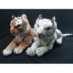 Tigre Peluche 45 Cm. Largo / 2 Tonos