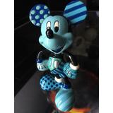 Mickey Mouse Figurine Blue Romero Britto