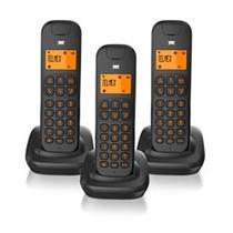 Telefono Triple Inalambrico Telmex D185 Altavoz Intercom