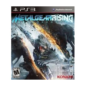 Metal Gear Rising: Revengeance Ps3 Digital Tenelo
