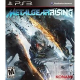 Metal Gear Rising: Revengeance Playstation 3 Digital Tenelo