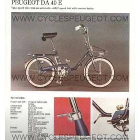 Bicicleta Peugeot Da 40 E