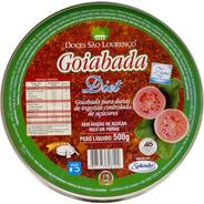 Goiabada Diet 500g Lata São Lourenço