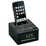 Radio/reloj Despertador, Fm, Docking Para Ipod/iphone