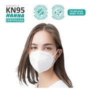 10 Mascarillas Kn95 Nano Plata Certificada Reutilizables