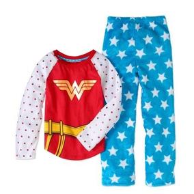 Pijama Blusa Pantalón Wonder Woman 7/8 Y 10/12 Años