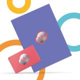 Oh! Gift Card Institucional $2000. Holder Azul.