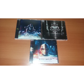 3 Cds: Blaze Bayley (infinite/endure/soundtrack)