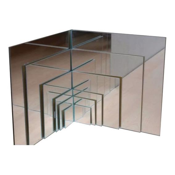 Espejo 3mm Incoloro Plata M2.  Corte A Medida
