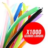 1000 Globos Figuras Largos Sempertex Globoflexia Fiestaclub