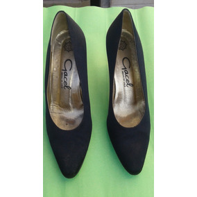 Zapatos De Gamuza Gacel Numero 37.5