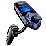 Transmisor Victsing Bluetooth Fm Wireless In-car Radio Azul