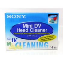 Fita De Limpeza Minidv Dvc Para Câmeras Jvc Sony Panasonic