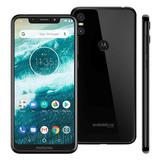 Motorola One 64gb Preto Xt1941 Lacrado - Somos Loja - Nf
