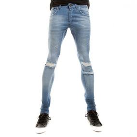 Jeans Clarito Chupin Skinny Siamo Fuori 2018