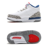 Tênis Nike Air Jordan 3 Retro Og True Blue Infantil