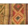 Cartera Bolso Rustico Tela Con Textura Retro Vintage