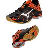 Tenis Mizuno Lightning Z Negro Naranja Voleibol, Balonmano