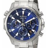 Reloj Bulova Hombre 96b256 Crono Original Oficial