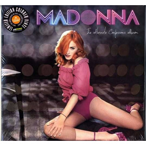 Madonna 2 Lp Alternate Confessions Album Europeo Nuevo