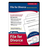 Adams Archivo Para Cd Divorcio, Manual Y Las Formas En Cd (