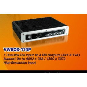 Vwbox 114p-r10 Transforme Quatro Tvs Em Video Wall