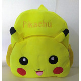 Mochila Pokemon Pikachu Peluche