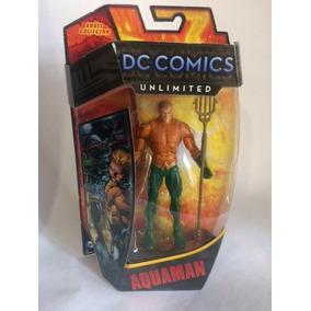 Figura Aquaman Unlimited Dc Mattel