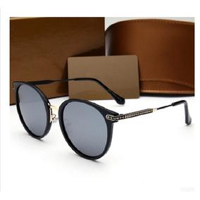 Óculos De Sol Marca Gucci 2203 Mulher Preto Dourado