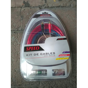 Kit De Instalacion Car Audio Calibre 4 Speed 1500w