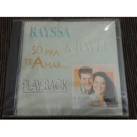 Cd Playback Rayssa E Ravel Só Pra Te Amar Lacrado 1 Versão