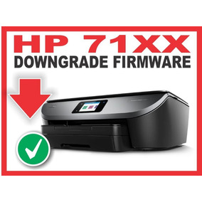 Downgrade Firmware Hp 7100 Series