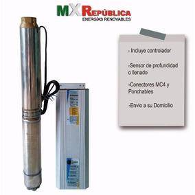 Bomba Sumergible Solar/eolica Mxrep4psp2-11 Incluye Envio