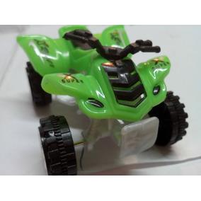 Mini Moto Playera 4 Rueda Juguete 6cm Motor De Fricción New