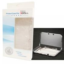 Capa Case Acrilico Cristal Nintendo 3dsxl New Pronta Entrega